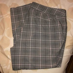 Loft Plus Plaid Marisa Pants